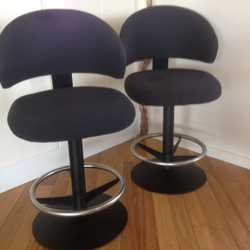 Swivel stools,  quality upholstery exc.cond  $18ea or  3 for $50