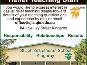 If you would like to express interest in casual relief teaching please forward details of your teaching qualifications and experience by mail or email office@sjls.qld.edu.au