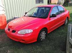 1999 Hyundai Lantra 235,000kms, as is Burnett Heads, no rego/RWC, still goes, needs TLC $1000 ono...