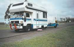 DIAHATSU Camper Van dbl birth up & down, suit retired person/s, ready for road, RWC required,...