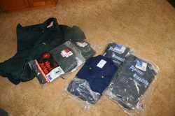 Hard Yakka, Australian made, 100%cotton drill overalls,  92R,  4x Navy, 3 x dk Green. $45 each. $200...
