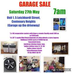 GARAGE SALE Decluttering sale - everything must go!  Bric a brac, 2 x portable evaporative coolers,...