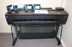 Barely used HP Design Jet T730 colour A0 plotter. Still under warranty. Purchased new Jul2016 for $4...