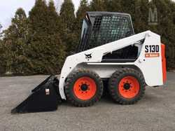 Bobcat Skid steer Loader,S130,Enclosed cab with A/C,2007,Standard hand and foot controls,4in1 bucket...