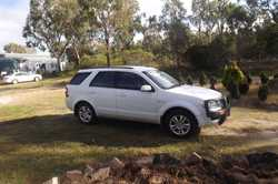 Territory 2010 bulbar towbar 7 seater reverse camera 5 months rego 120000km good cond all the extras