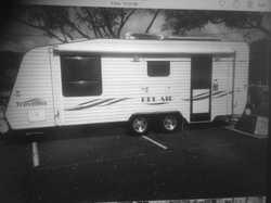 TRAVELLER Belair 2007, 22ft, reg, roof mountedsolar system and auto sat dish, full annexe,...