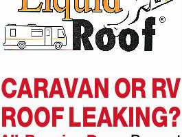 CARAVAN OR RV ROOF LEAKING?