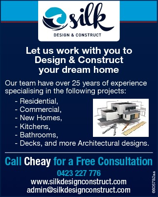 Let us work with you to Design & Construct your dream home
