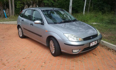 FORD FOCUS 2004 model, man, E/C, 130,000 kms, 1 owner, 9 mths rego, $5250 ono. 41246101 or 040815...