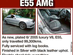 Mercedes Benz E55 AMG As new