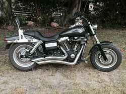 2008 Harley Davidson Fat Bob 24,000Klm 255 Screaming Eagle CVO cams, Big Breather Python exhaust...