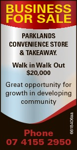 BUSINESS FOR SALE   PARKLANDS CONVENIENCE STORE & TAKEAWAY.   Walk in Walk Out   ...