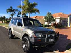 2002 Mitsubishi Pajero 4x4 wagon, 6 cylinder man, AC & PS, Roobar, UHF, Good tyres, reliable...
