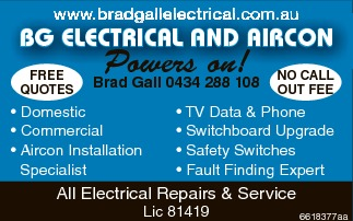 BG ELECTRICAL AND AIRCON 