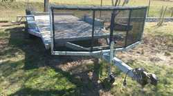 TILTA TRAILER 2014 G/C, little use, extras, for low slung cars - no need for ramps, lock nuts, ty...