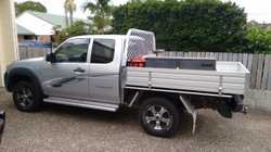 Freestyle 4WD, 49500kms, 3L Turbo Diesel, 5 sp manual, alloy wheels, bull bar, towbar, UHF radio, to...