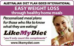 AustrAliAn diet plAn goes internAtionAl 6618287aa Easy wEight loss through healthy home meals Person...
