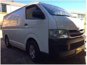 2008 Toyota Hi Ace Diesel Van