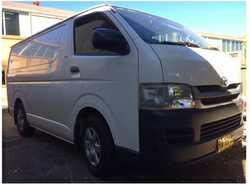 TOYOTA Hi-Ace diesel van 2008, manual, 170,000km, log book serviced, exc. cond. 6mths rego, air c...