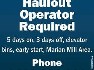 Haulout Operator