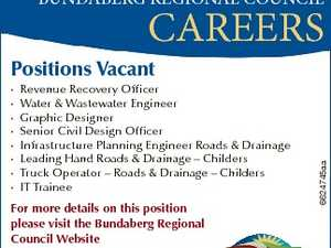 BUNDABERG REGIONAL COUNCIL - CAREERS