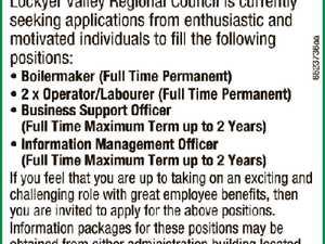 General Vacancies