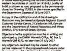 PROPOSED PERMANENT ROAD CLOSURE Attention is directed to an application for Permanent Road Closure of areas totalling about 126m2 being part of Yabba Road adjoining the northern, southern and western boundaries of Lot 61 on LX1848, Locality of Imbil, as shown as road proposed to be permanently closed on Drawing ...