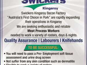 Quality Assurance - Labourers - Knifehands