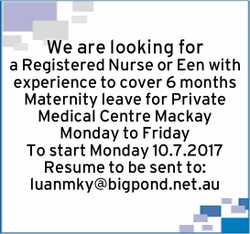 We are looking for a Registered Nurse or Een with experience to cover 6 months Maternity leave fo...