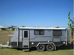 "COROMAL Atlas 2015 18'6"" Tandem Pop-top. Off road tyres, hitch, ind. susp, toilet / sh..."