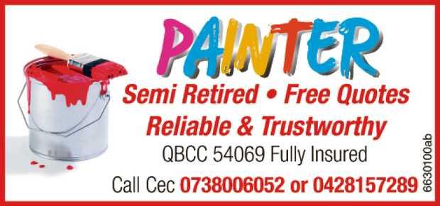 Semi Retired   Free Quotes   Reliable & trustworthy   QBCC 54069   Fully Insu...