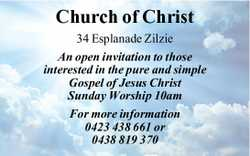 An open invitation to those interested in the pure and simple Gospel of Jesus Christ Sunday Worsh...
