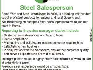 Steel Salesperson