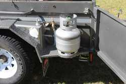 Very good condition, used a couple of times,electric pump with out side tap,2 gas bottles,gas cookto...