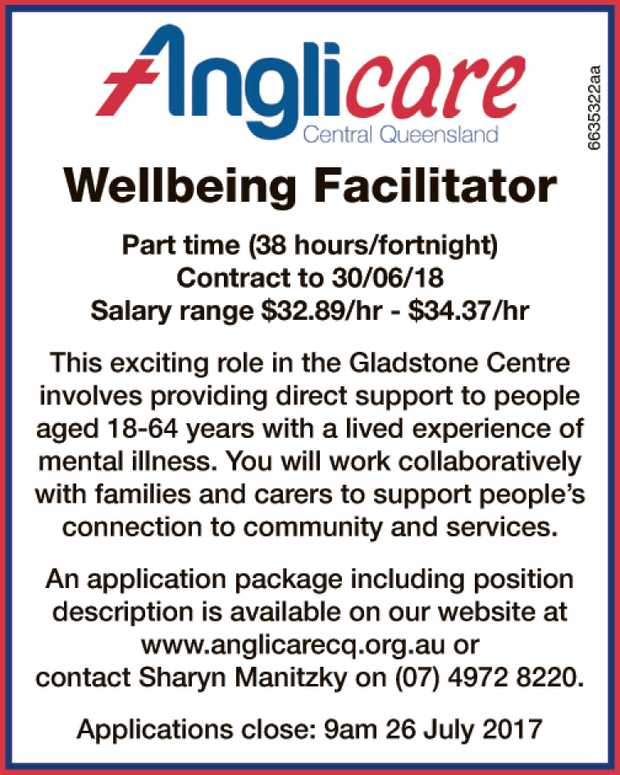 Wellbeing Facilitator