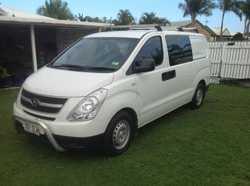 Hyundai Iload Crew Van.. 2.5 Turbo dsl, 5 Spd man. 122,000 klm. Seats six. Many extras. 7 mths Rego...