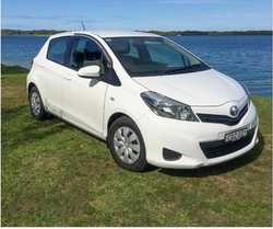 TOYOTA YARIS YR. 2014,