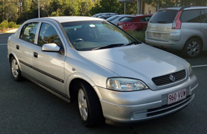HOLDEN ASTRA 2002, 122,000 kms, always garaged, looked after, rego, man, new seat covers, GC, $30...
