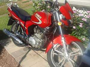 2010 Kymco CK125 Motorbike