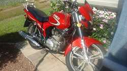 2010 Kymco CK125 Motorbike,  1040kms,  unregistered,  $1700.