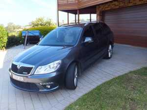 immaculate luxury Wagon, full log books always serviced by Skoda dealer, 6 airbags, Sat Nav, auto wipers and lights, part interior leather, same engine as Golf GTI diesel, looks and drives like new, extremely ecconomical