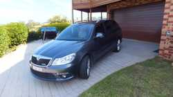 immaculate luxury Wagon, full log books always serviced by Skoda dealer, 6 airbags, Sat Nav, auto wi...