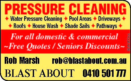 Pressure Cleaning Contractors in Brisbane, Gold Coast and Sunshine Coast. No Travel Charge and se...