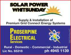 Supply & Installation of Premium Grid Connect Energy Systems   PROPSERPINE ELECTRIC...