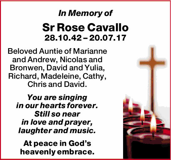 28.10.42 – 20.07.17
