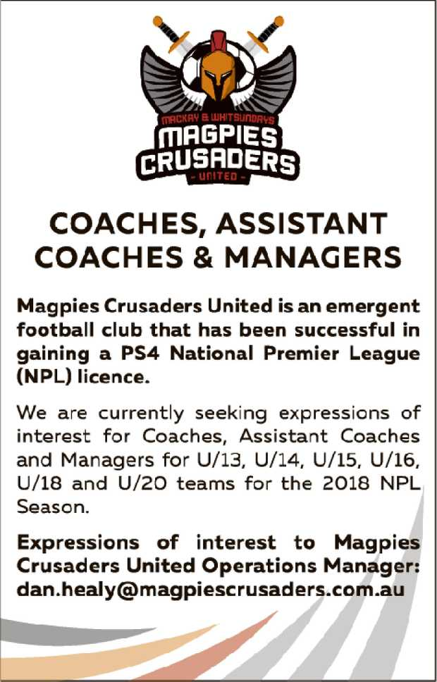 Magpies Crusaders United is an emergent football club that has been successful in gaining a PS4 N...