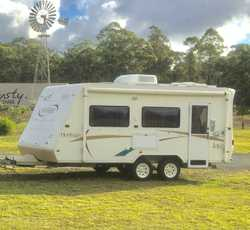 2004 Jayco Heritage Caravan in excellent condition.Setup for free camping,200 watt solar panels,Satk...