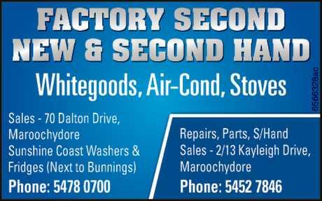 <p> Whitegoods, Air Cond, Stoves </p> <p>  </p> <p> Sales - 70 Dalton Drive...</p>