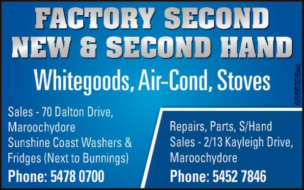 Whitegoods, Air Cond, Stoves