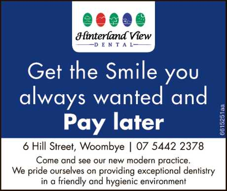 <p> We welcome you to Hinterland View Dental!<br /> <br /> At Hinterland View Dental, it is...</p>